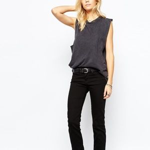 Levi's 552 Mid Rise Straight Women Jeans Size 4M